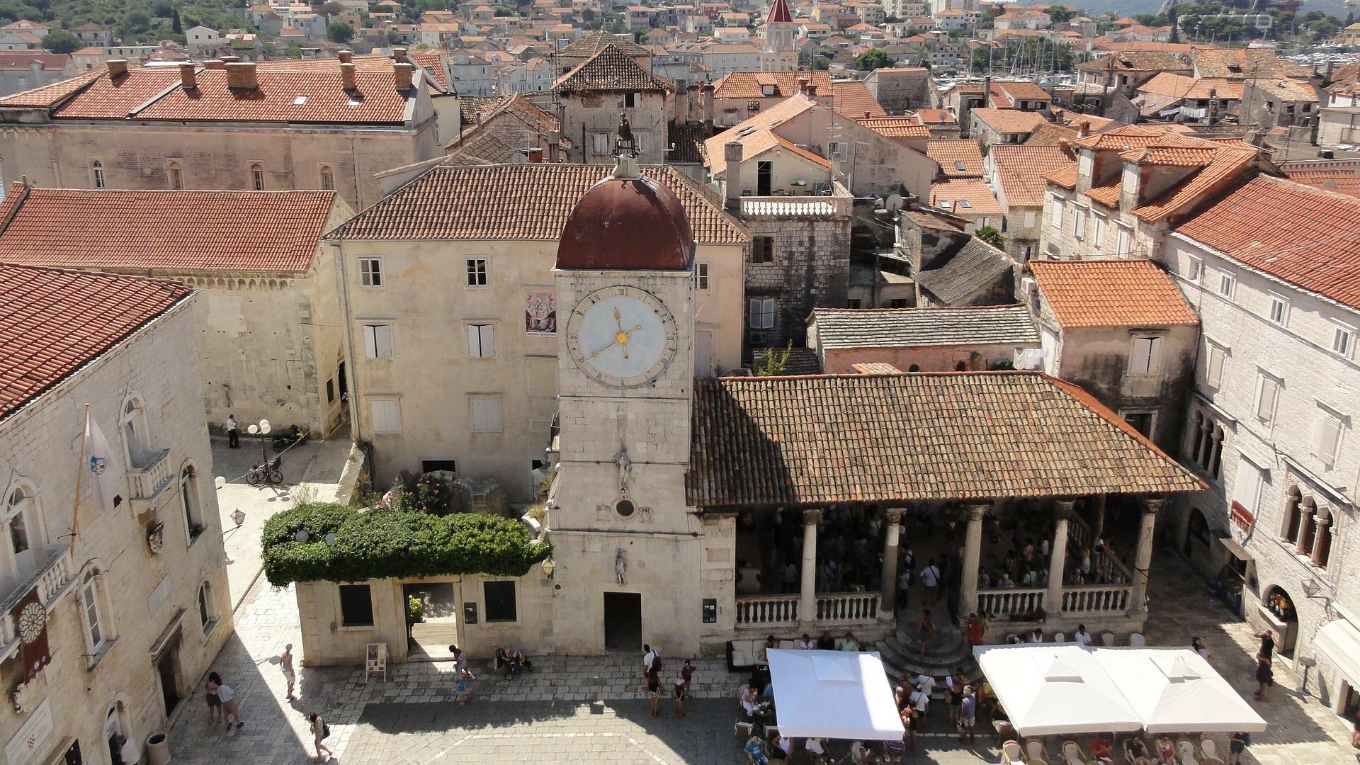 Trogir leuke bestemming om te bezoeken in kroatie