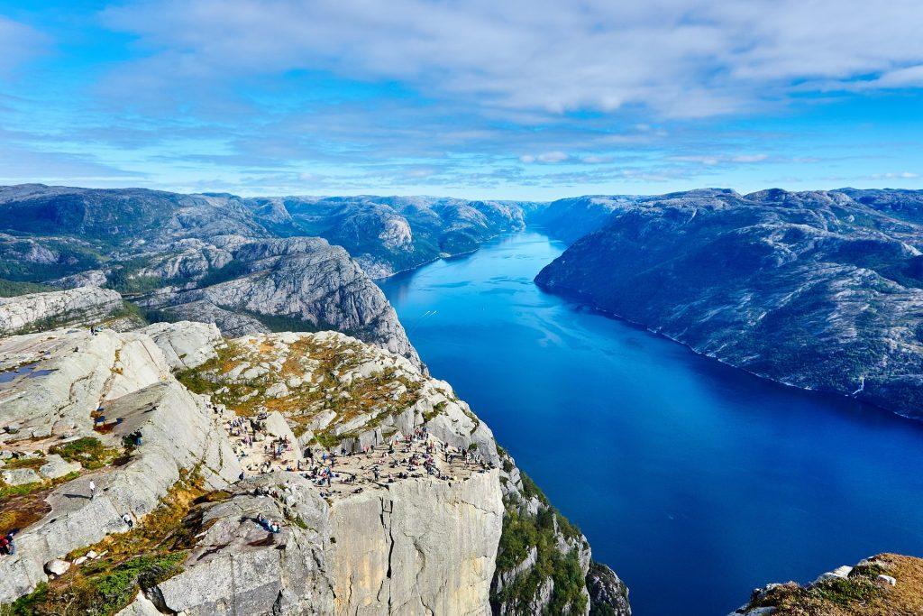 mooie plekken in noorwegen